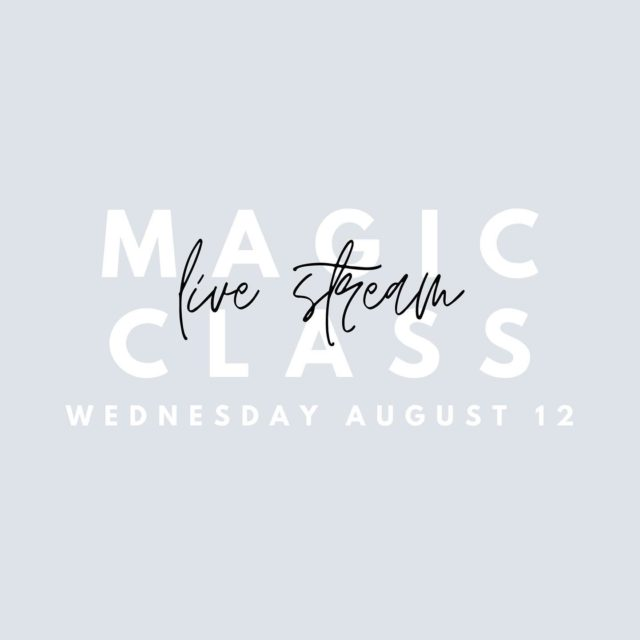 Life has changed a bit over the last few months, but that doesn't mean we stop living and having fun. Combining eye-popping magic and mind-blowing mentalism, Kirsch will teach you some tips and tricks that will be sure to wow your friends. Join us on Wednesday August 12th at 5PM!