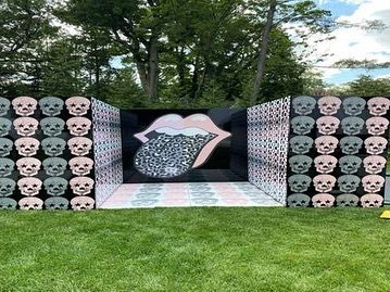 Although Summer has left us, we are having tons of FUN with these outdoor events.  Nothing better than early Fall weather 👌🏼 Check out the branding on some of our extra entertainment concepts 😍#photobooth #cornhole #funwheel #dj #outdooreventideas